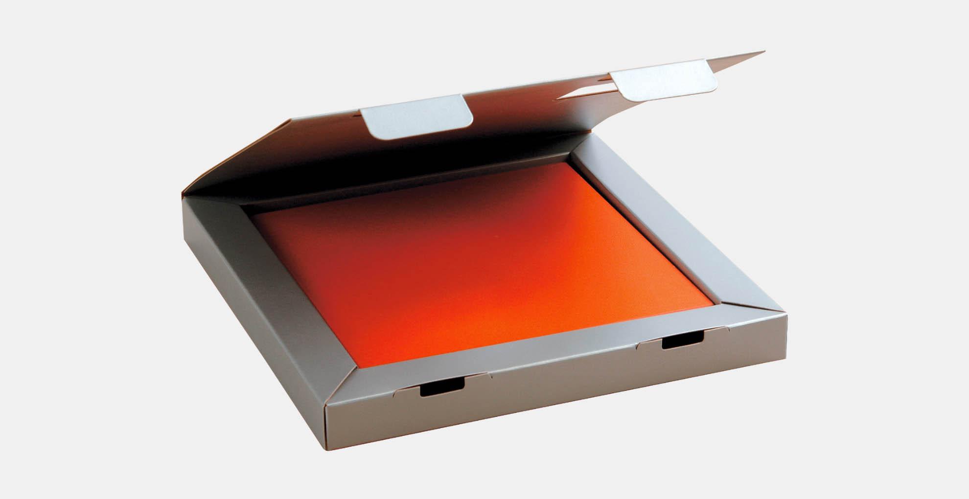 מארז קופסא ממותג בהתאמה אישית עבור דוגמאות שונות, חיתוך צורני, קרטון דופלקס